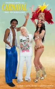 Gilmar Dance, Lotta (88 år) & Amanda Damas (Rainha do Carnaval 2013)