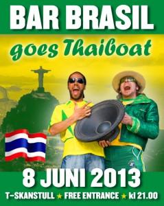 Bar Brasil @ Thaiboat