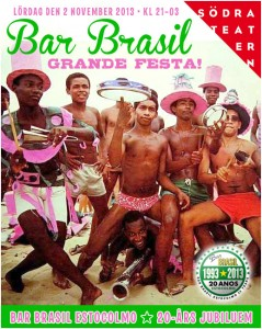 Bar Brasil Estocolmo -  Sambaparty!