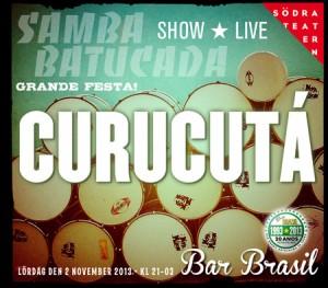Stockholm Carnival - Samba & batucada med Curucutá