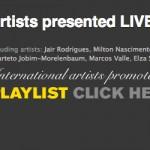 PLAYLIST - Artists promoted in Stockholm by Bar Brasil Estocolmo