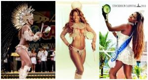 Cris Alves, Rio de Janeiro - Rainha de Carnaval do Bar Brasil Estocolmo 2014