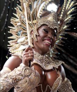 Cris Alvés - Rainha do Carnaval em Estocolmo 2014