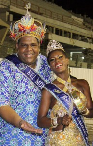 Rei Momo & Cris Alves, Rainha do Carnaval, Rio de Janeiro 2012