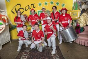 Maravilha Do Samba - Här 8 av 25 slagverkare.