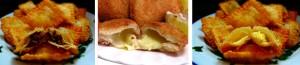 Pastel de carne - Risoles de Queijo -Pastel de queijo