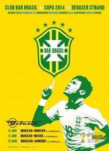 Fotbolls-VM 2014, Bar Brasil på Debaser