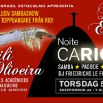 "Bar Brasil ""Noite Carioca"" 5 juni @ Skeppsbar"