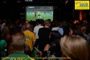 Bar Brasil Estocolmo, VM 2014 på Debaser Strand 17/6.