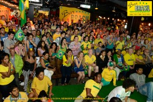 Bar Brasil Estocolmo, VM 2014 på Debaser Strand.