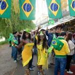 Bilder från festen på Debaser Strand: Brasilien-Kroatien 12/6