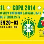 Bar Brasil följer fotbolls-VM på Debaser Strand