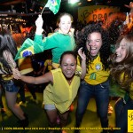 Pictures from the Bar Brasil-party: Brazil–Chile, the 28th of june 2014