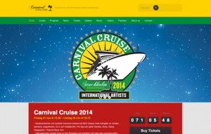 CLICK on picture for website: carnivalcruise.se