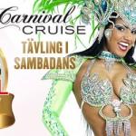 Tävling i sambadans: Musa do Carnaval Bar Brasil 2015, 21–22 Nov på M/S Galaxy