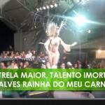 Sambastjärnan Cris Alves hyllas med eget Samba-Enredo