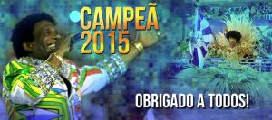 Beija Flor, campeão 2015!