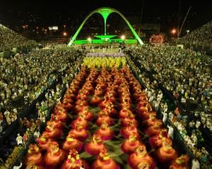 Carnaval do Rio de Janeiro, Sambadrome Marquês de Sapucaí.