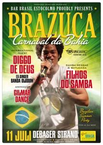 Bar Brasil Estocolmo @ Debaser Strand