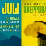 Club BAR BRASIL @ Skeppsbaren 25 juli