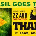 Bar Brasil goes Thaiboat 22/8 - FRI ENTRÉ!