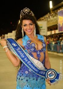 Clara Paixão, Carnival Queen 2016. Foto: Rogério Torres