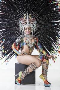 Clara Paixão, The Carnival Queen of Rio de Janeiro 2016. Foto Marcos Mello