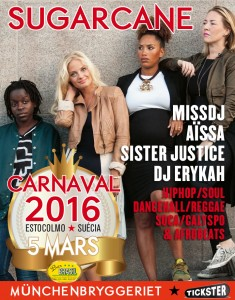 Sucarcane • Missdj, Dj Aïssa, Sister Justice och DJ Erykah
