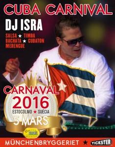 Cuban Carnival with DJ Isra