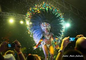 Clara Paixão, Rainha 2016. Foto: André Melo-Andrade. • Stockholm Carnival 2016