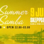"Club BAR BRASIL ""Summer Samba"" @ Skeppsbar 9 juli"
