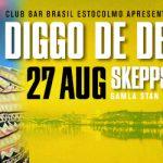 Club BAR BRASIL: 27/8 Diggo de Deus LIVE @ Skeppsbar