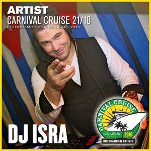 Carnival Cruise • DJ Isra (Cuba)