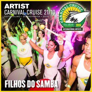 Carnival Cruise • Filhos do Samba