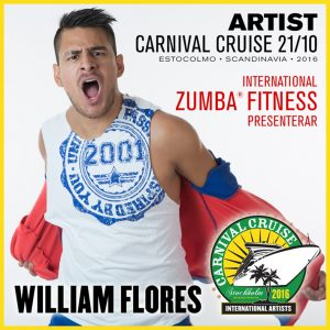 Carnival Cruise • Zumba with William Flores