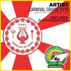 Carnival Cruise • Maravilha do Samba