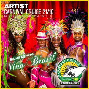 Carnival Cruise • Viva Brasil Sambashow