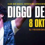 "Club BAR BRASIL: 8 Okt • Diggo de Deus ""live"" at Skeppsbar"
