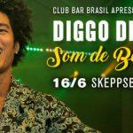 Club BAR BRASIL 16 juni på Skeppsbar. Live: Diggo de Deus