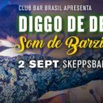 Club Bar Brasil 2/9 • Skeppsbar – Live: Diggo de Deus