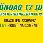Bar Brasil Party 17 juni • VM 2018 Brasilien-Schweiz