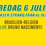 Brasilien-Belgien 6/7 • Bar Brasil Party kl 18-03
