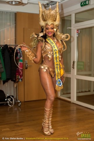 "barbrasilestocolmo_carnaval2019 ""Rainha do Carnaval 2019"""
