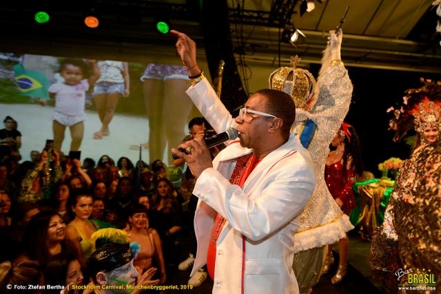 Serginho do Porto, Estácio de Sá, Rio de Janeiro – Stockholm Carnival 2019