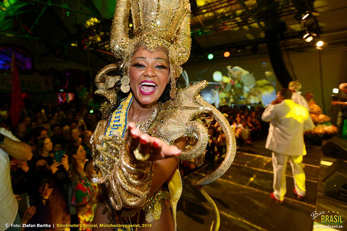 Camila Silva, Rainha do Carnaval de Estocolmo 2019