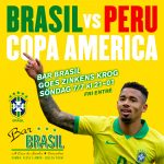 "Final Copa America - BAR BRASIL goes ""Zinkens Krog"""