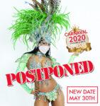 Karnevalen flyttad till lördagen den 30 maj