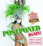 Karnevalen framflyttad ännu en gång till i september!