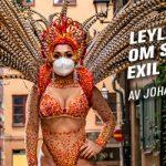 """""""Jag har saknat mitt Brasilien"""" –  Karnevalsdrottningen Leyla Barros om sin Corona-exil i Sverige"""